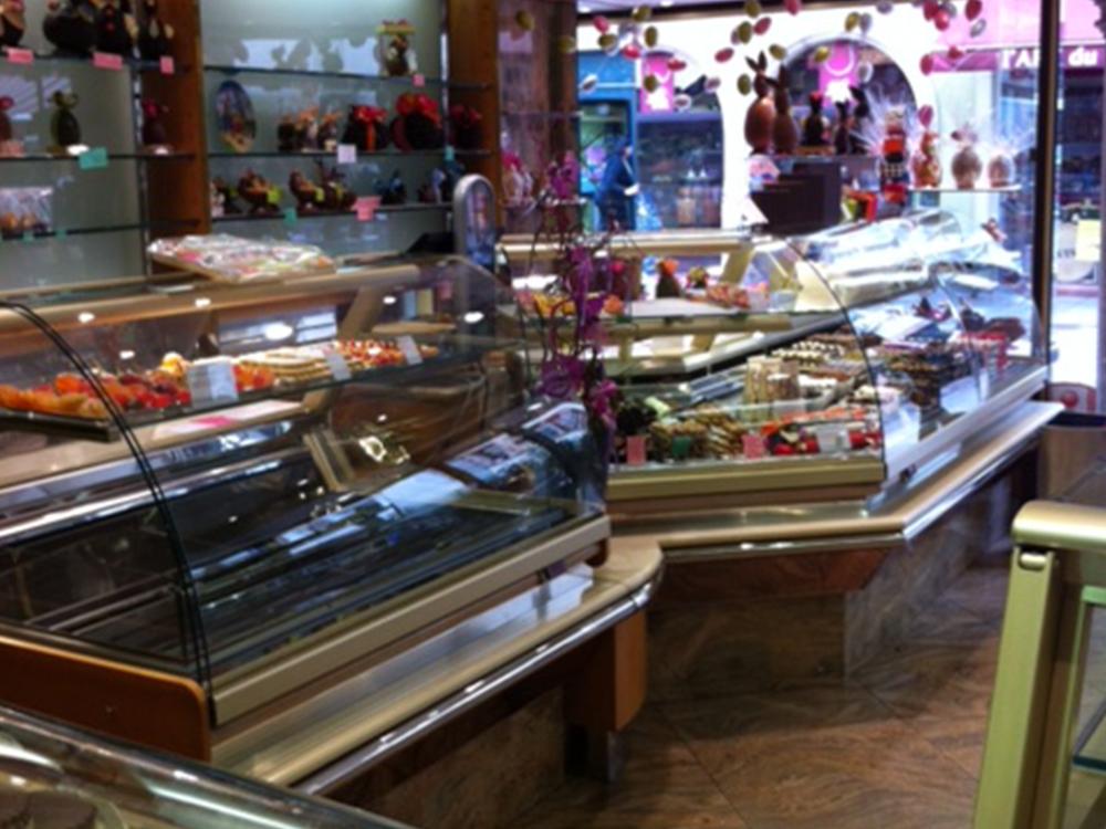 Le magasin entre 1995 et 2012 - Pâtisserie Litzler-Vogel