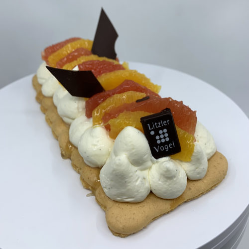 Macaron aux agrumes - Pâtisserie Litzler-Vogel