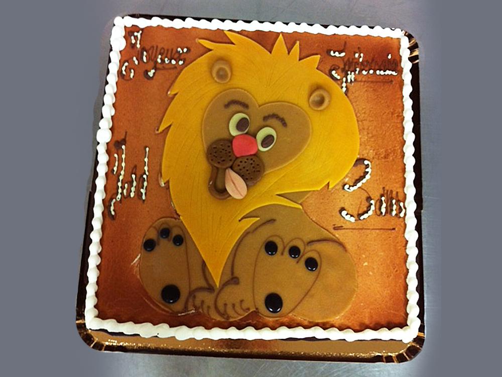 Gâteau personnalisé - Pâtisserie Litzler-Vogel
