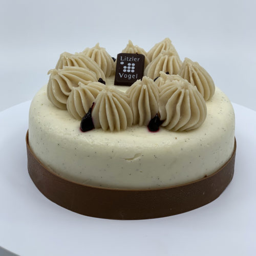 Tarte marron cassis - Pâtisserie Litzler-Vogel