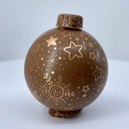 Boule chocolat lait constellations - Pâtisserie Litzler-Vogel