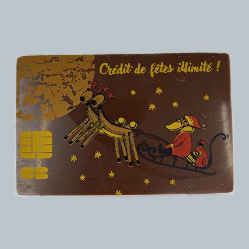 Carte crédit illimitée - Pâtisserie Litzler-Vogel