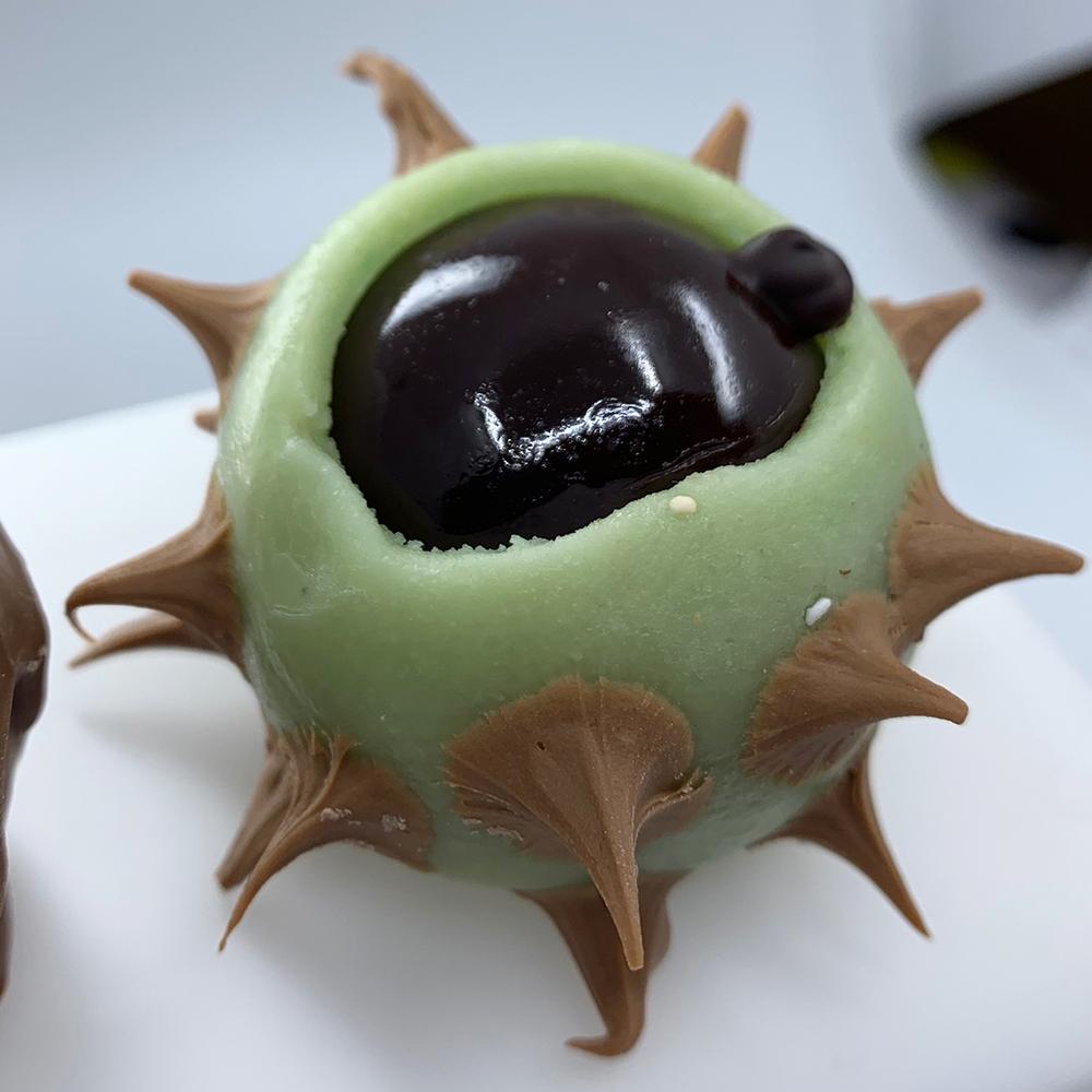 Châtaigne praliné croquant - Pâtisserie Litzler-Vogel