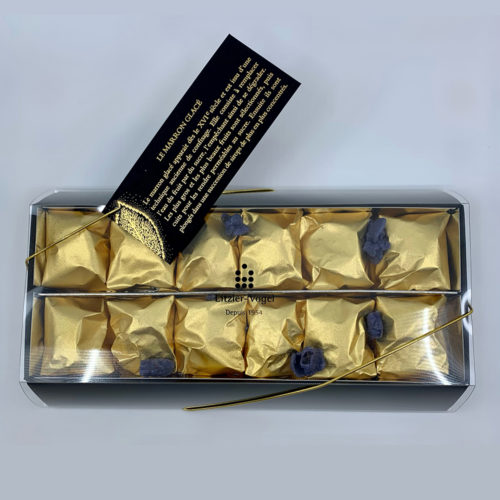 Marrons : Boîte 12 - Pâtisserie Litzler-Vogel
