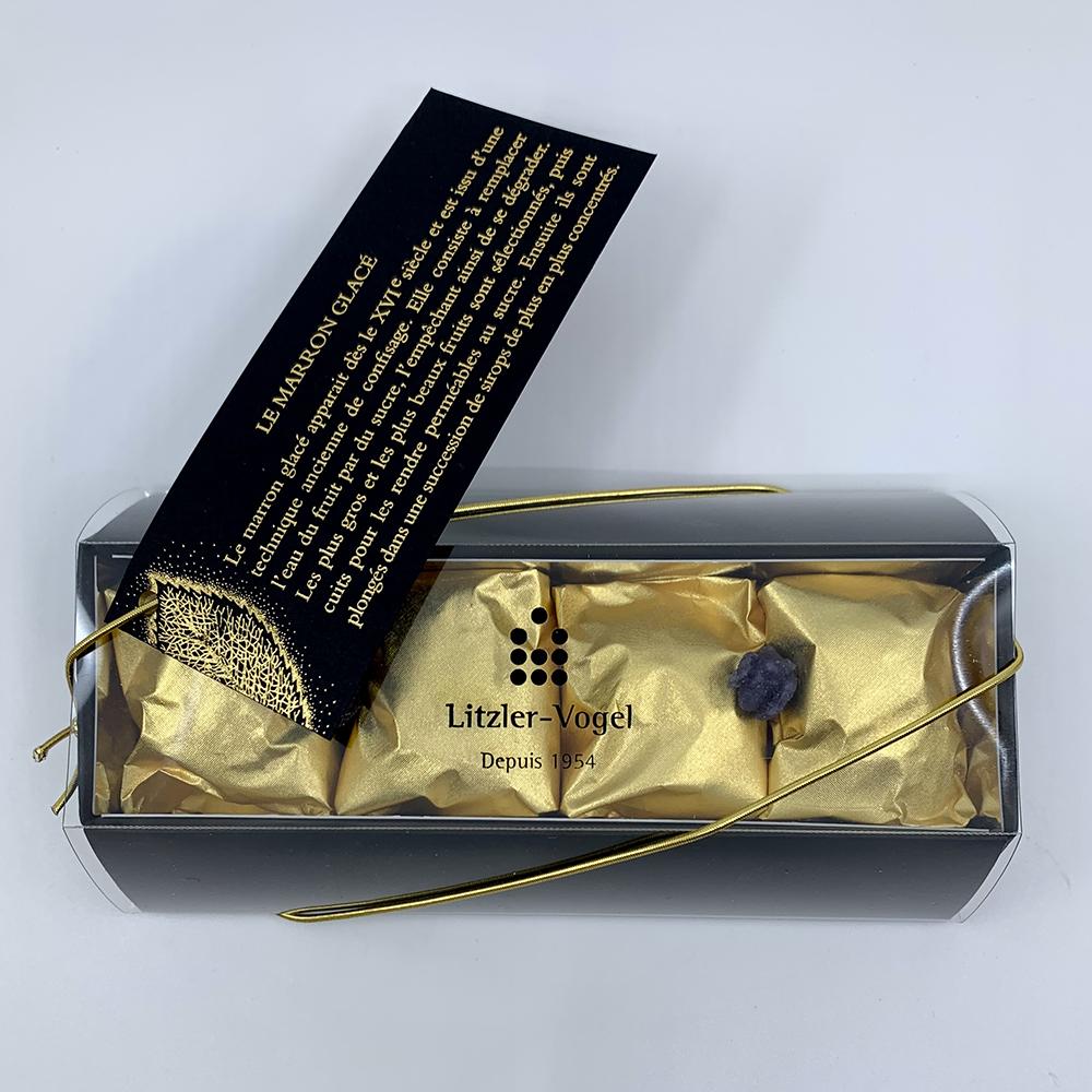 Marrons : Boîte 4- Pâtisserie Litzler-Vogel