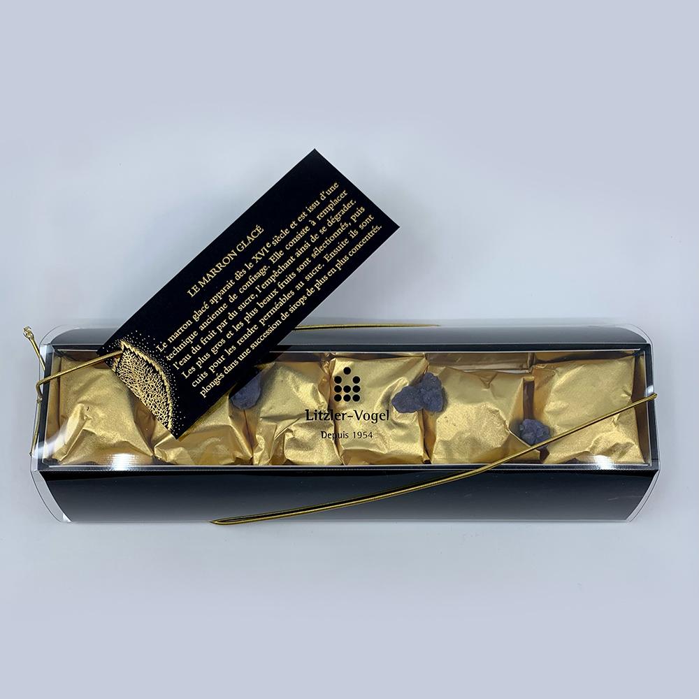 Marrons : Boîte 6 - Pâtisserie Litzler-Vogel