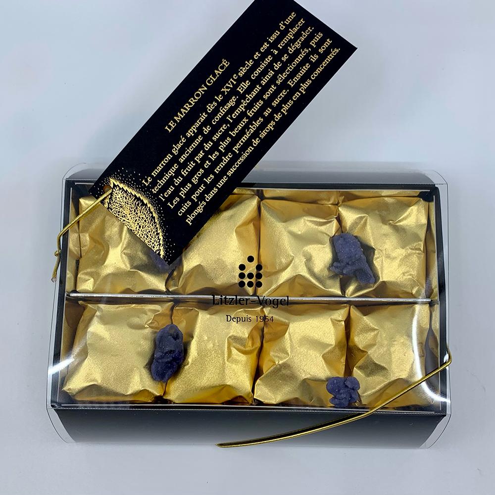 Marrons : Boîte 8 - Pâtisserie Litzler-Vogel