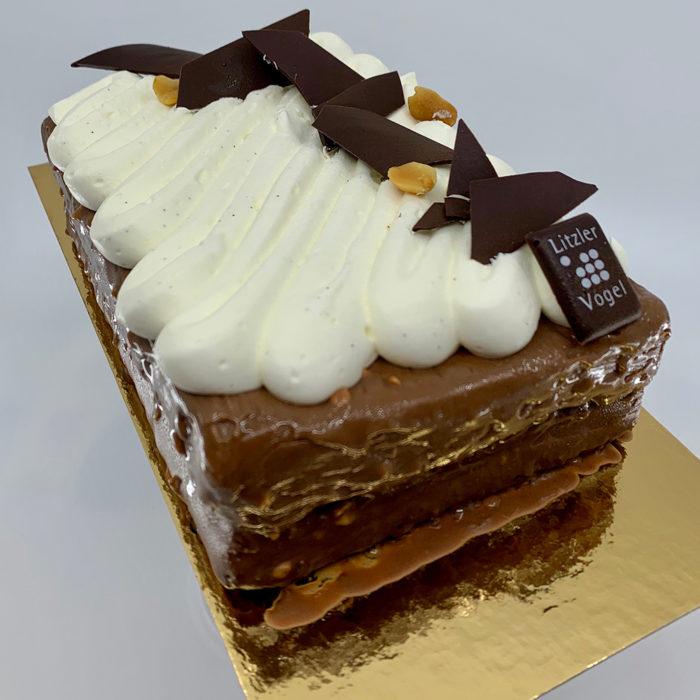 Brownie cacahuète - Pâtisserie Litzler-Vogel
