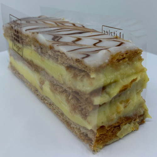 Millefeuille traditionnel - Pâtisserie Litzler-Vogel