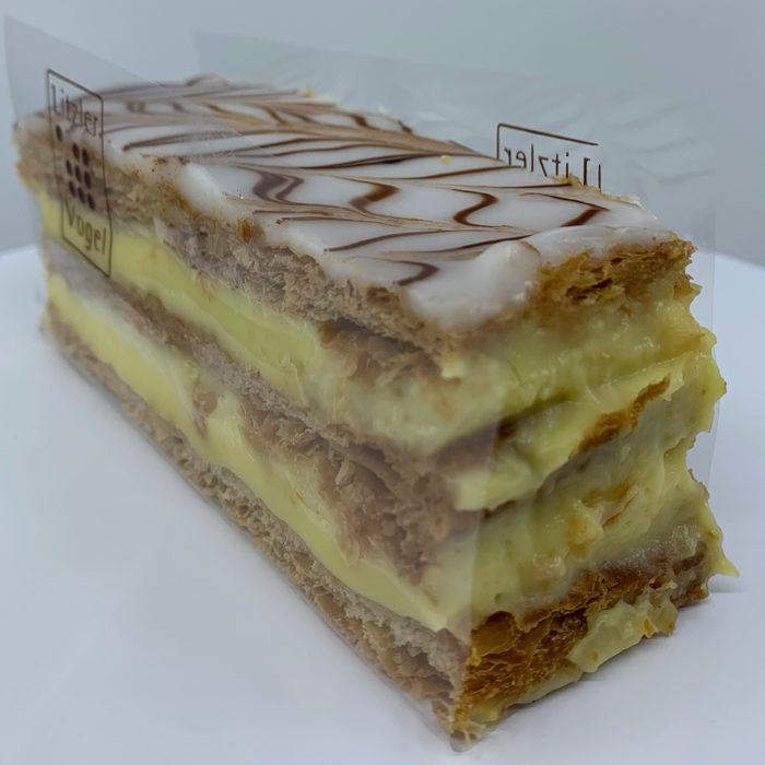 Millefeuille traditionnel - Pâtisserie Litzler-Vogel