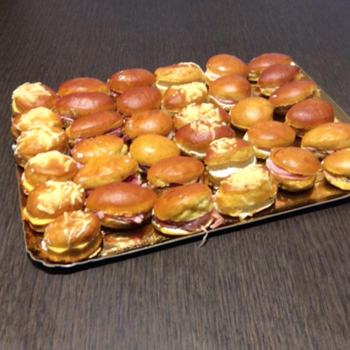 Traiteur : Mini sandwichs - Pâtisserie Litzler-Vogel