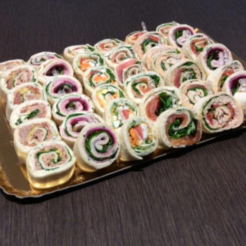 Traiteur : Wrapps fours - Pâtisserie Litzler-Vogel