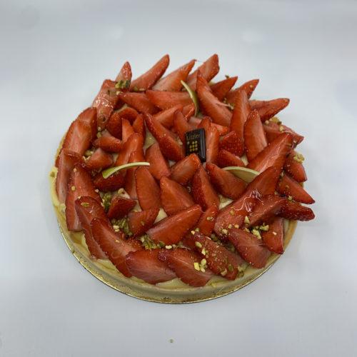 Litzler Vogel - Tarte aux fraises